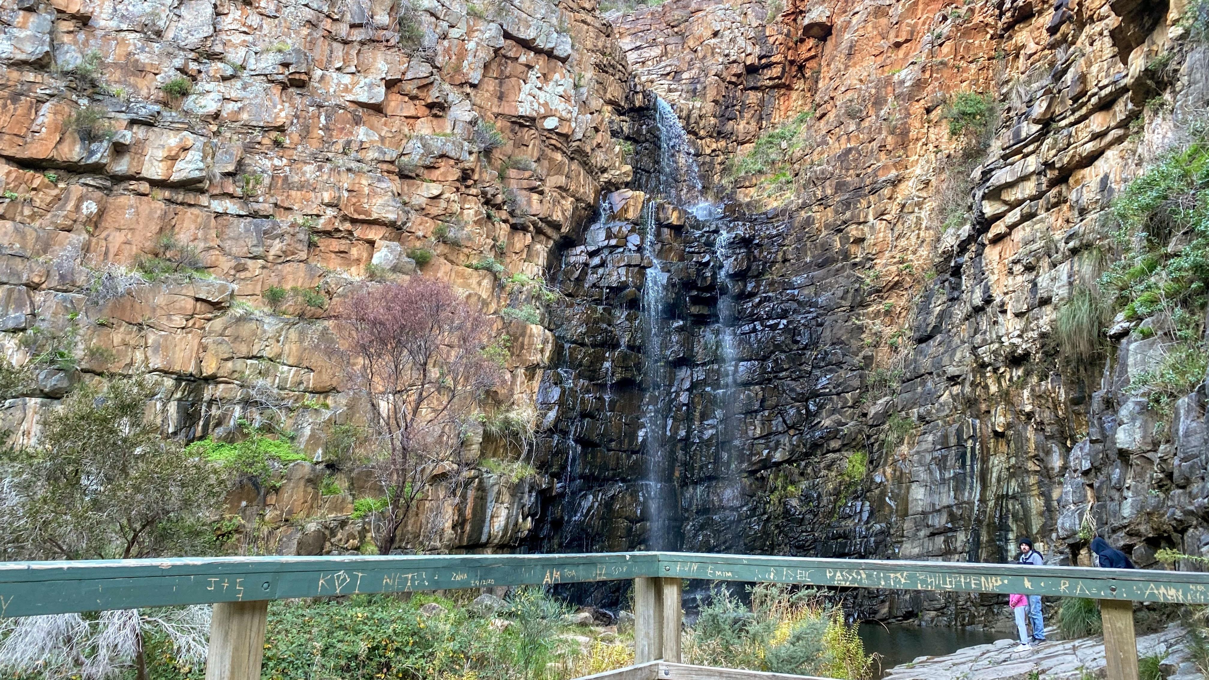 Morialta falls in Moriallta conservation park