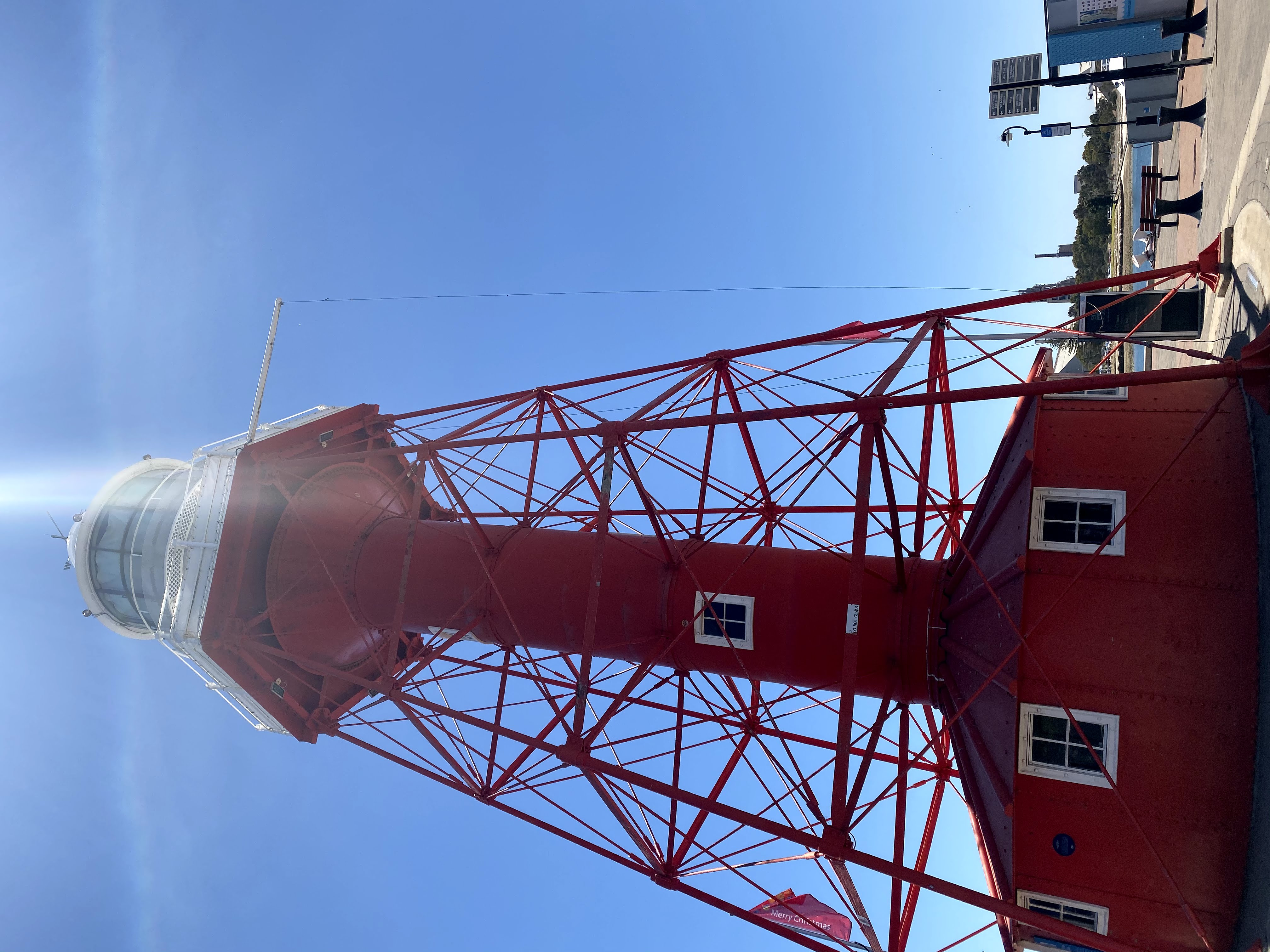 Lighthouse in Port Adelaide
